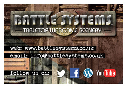 Battle Systems business card front