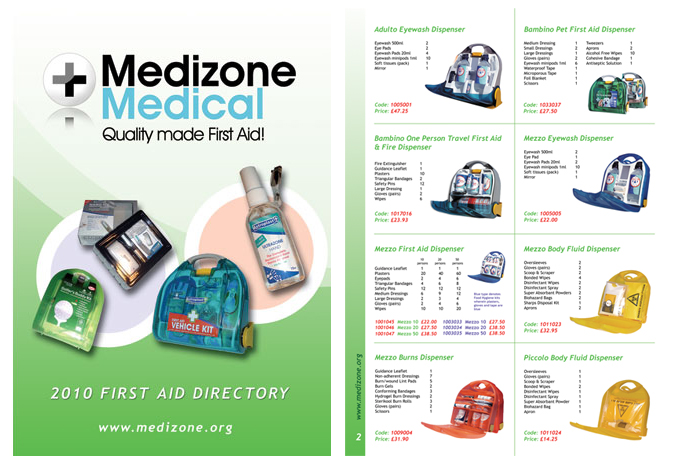 Medizone Medical brochure